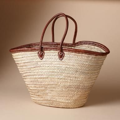 Raffia beach bag made by Moroccan artisans for Sundance Catalog ...