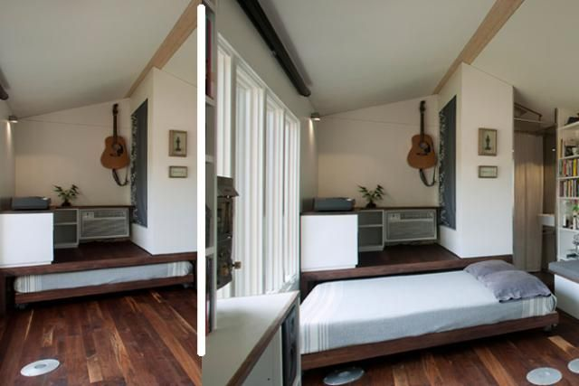 Smart Storage Solutions 7 Lessons Learned From Tiny Homes A New Way To Stash Bed