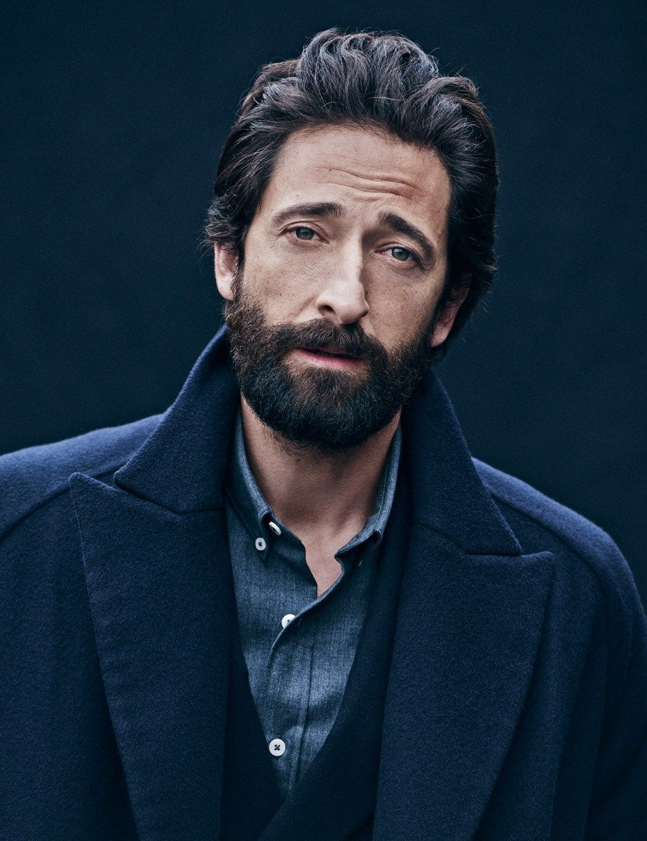 Adrien Brody by Matthew Brookes.