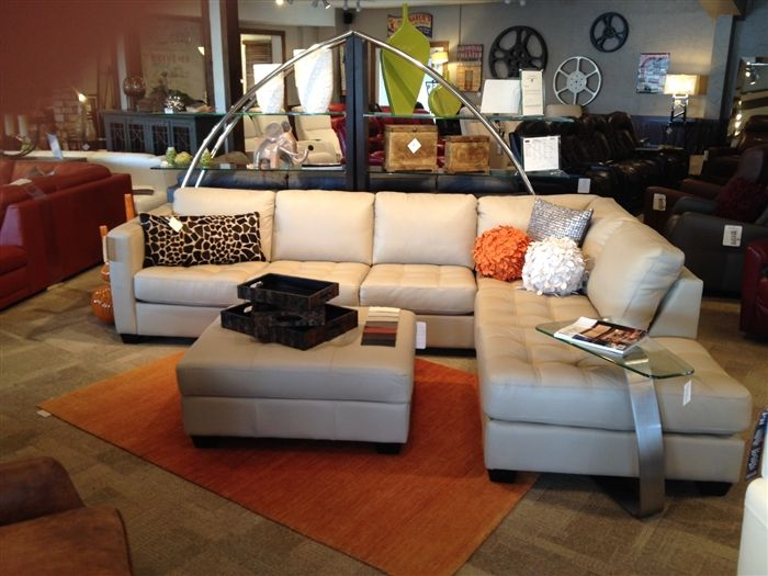 Amazing Barrett   Palliser Leather Sectional | Town And Country Leather Furniture  Store