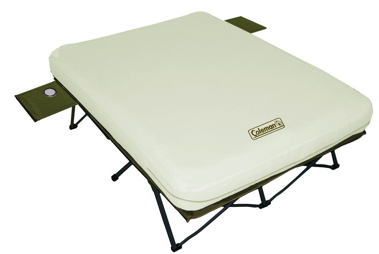 Queen Air Mattress Cot Queen Air Mattress Cot With Built In Inflater And Side Tables