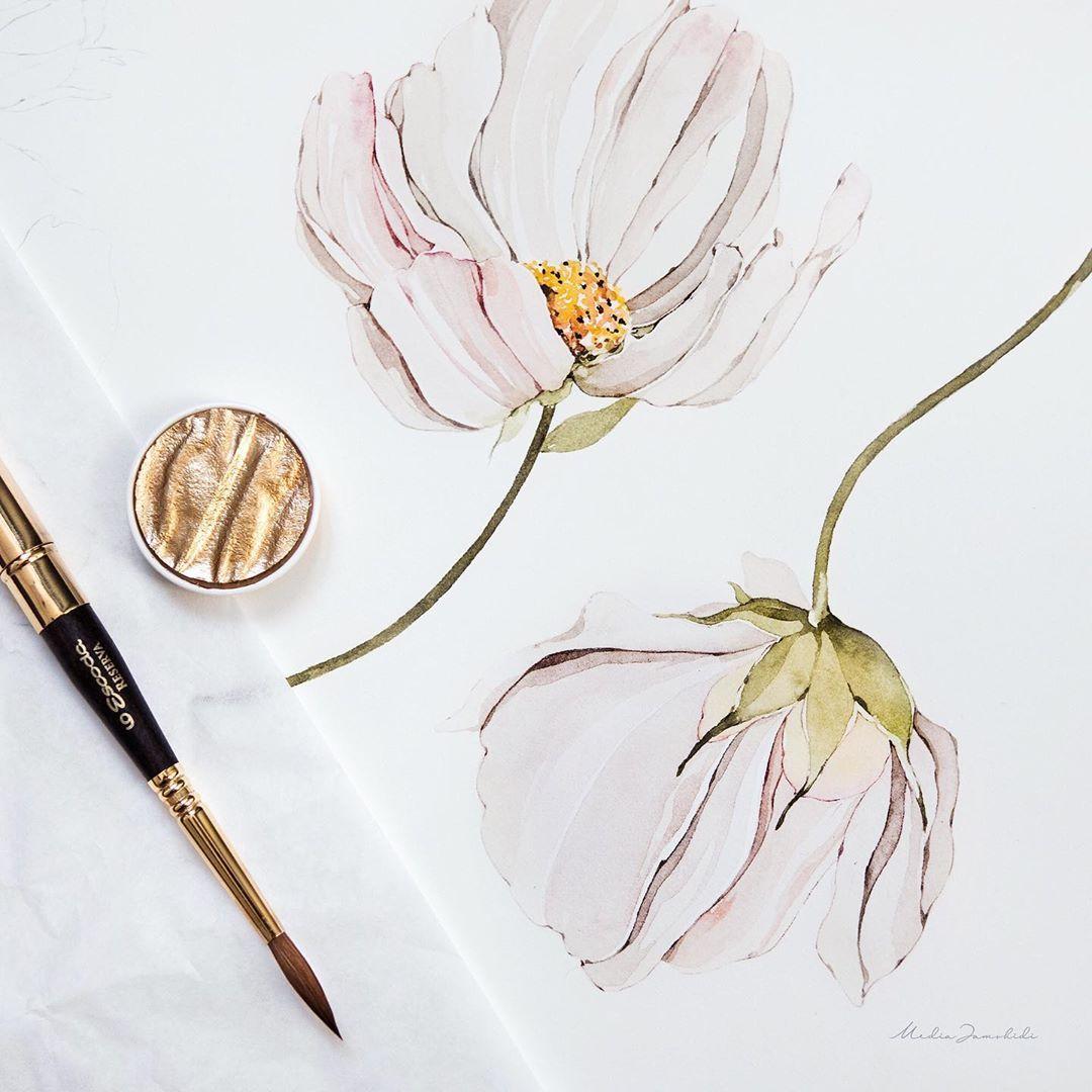 Media Jamshidi On Instagram Let S Paint Daisy Painting