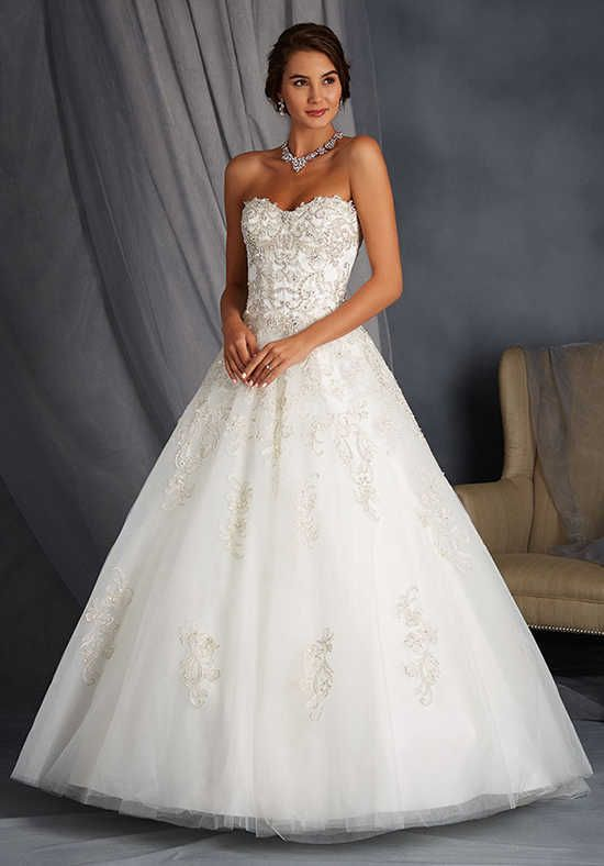Alfred Angelo Signature Bridal Collection 2568 Ball Gown Wedding ...