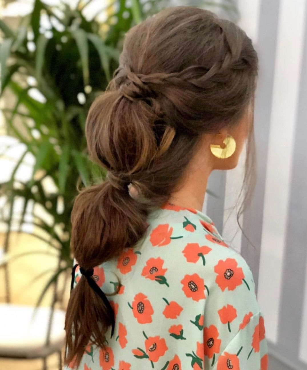 Pin by fernanda dias on beleza pinterest fancy ponytail