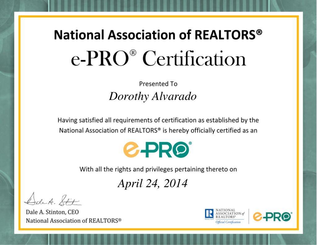 Nar Certification Epro Social Media And Internet Technology