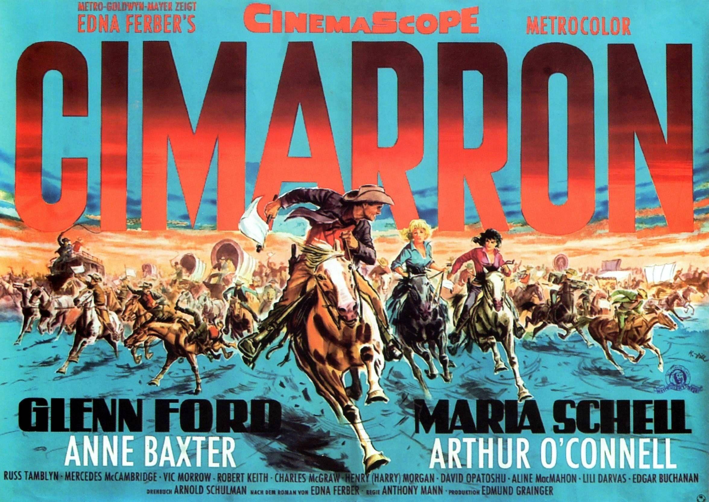 Image result for Cimarron (1960)