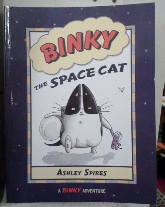 """Binky the Space Cat"" by Ashley Spires"