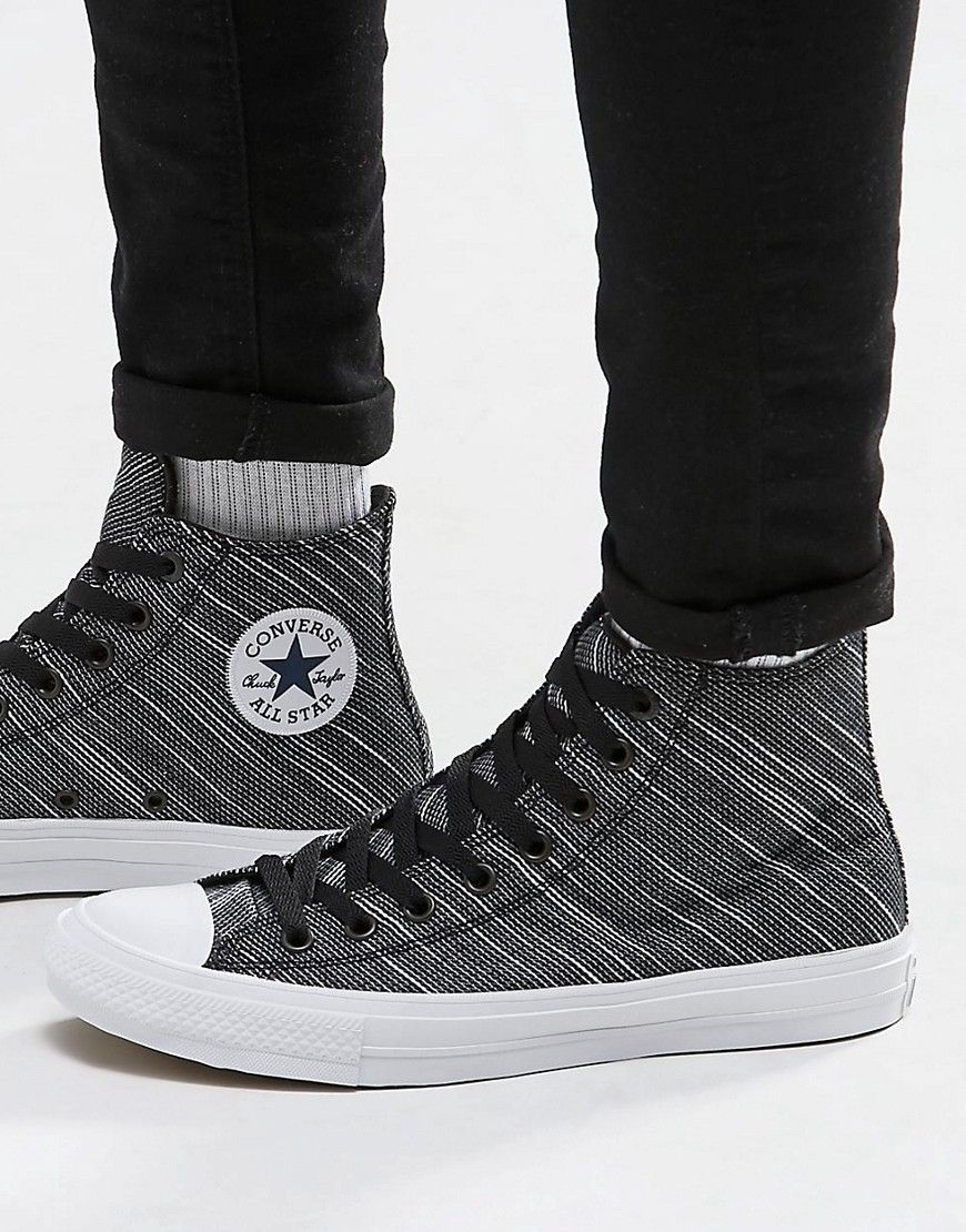 Converse Chuck Taylor Hi Grey Sneakers - Men