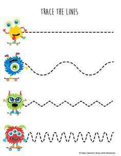 26+ Kid writing worksheets for kindergarten monster themed Popular