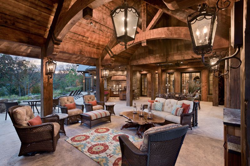 CHIMNEY ROCK | Rustic patio, Built in grill, Outdoor ... on Rock And Stone Outdoor Living id=38254