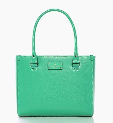 Kate Spade Wellesley Quinn Purse Handbag Bag Medium Fiji Leather New Nwt