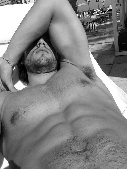 .hairy chest