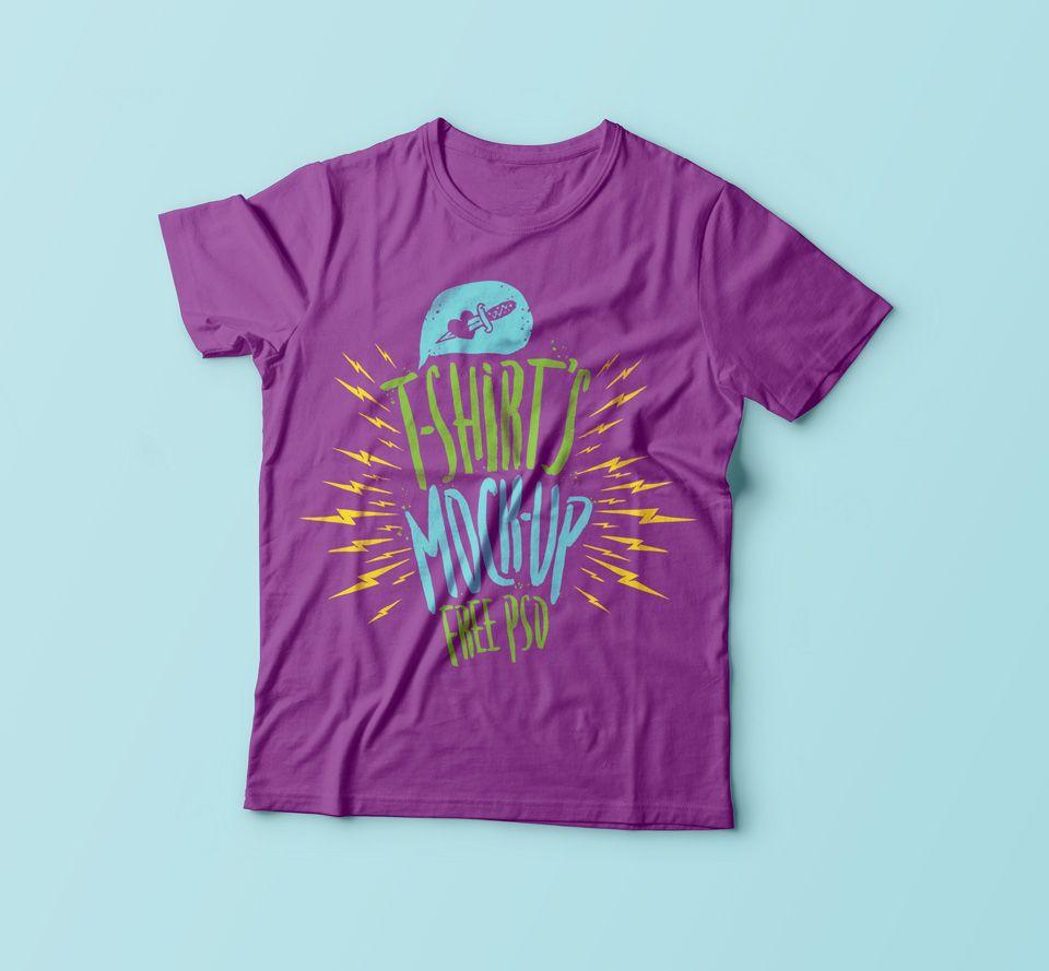Download Free Psd Plain Simple T Shirt Mockup Shirt Mockup Tshirt Mockup Photoshop Mockup Free