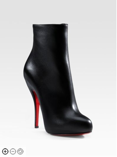 5379e361ee2b Christian Louboutin Black Leather Boots Sale Christian Louboutin Shoes