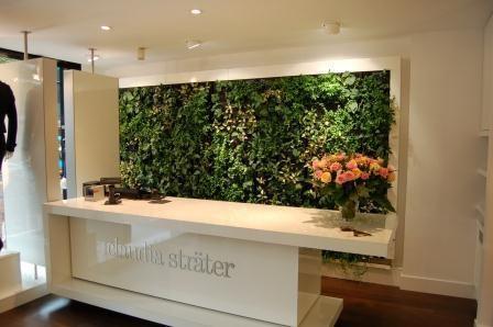 Mur végétal d\'intérieur ZEIST/BREDA Saint-Gobain Cultilene B.V. ...