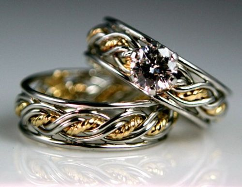lesbian unique wedding rings Romance Lesbian Wedding Rings Rings