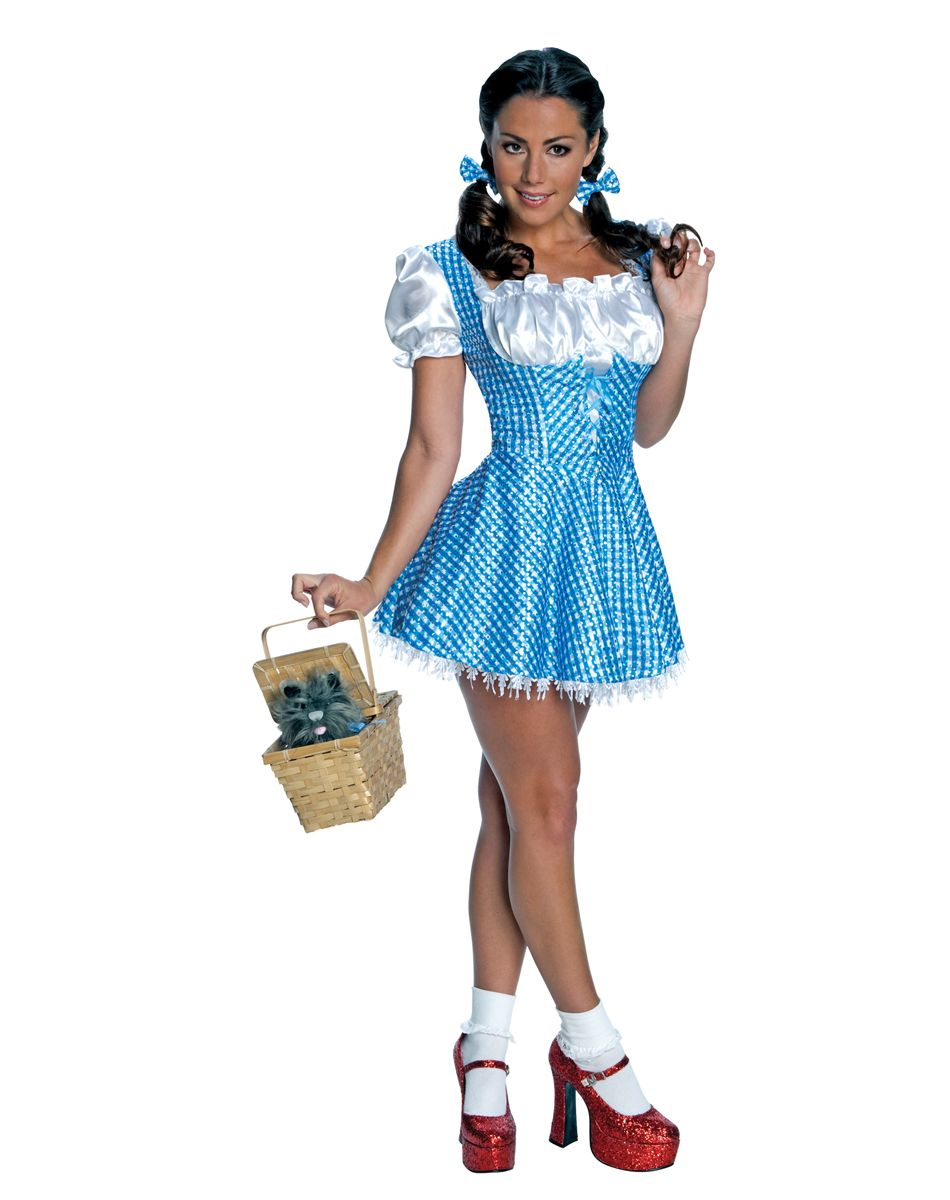 Wizard of Oz Sequin Dorothy Adult Womens Costume – Spirit ...