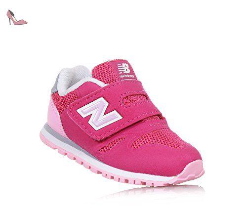 New Balance , Chaussons de gymnastique pour fille - rose - rose, 22,5