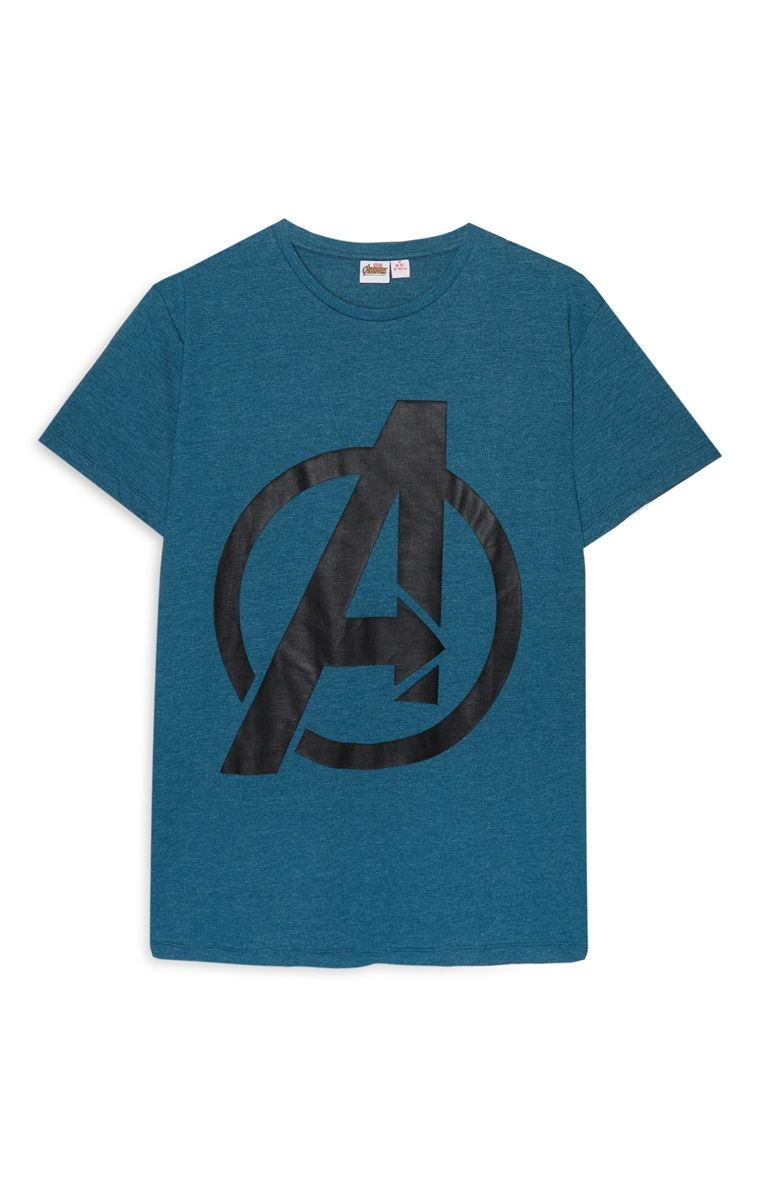 229bf7c4 Primark - Blue Avengers T-Shirt | Relay T Shirt in 2019 | Marvel ...