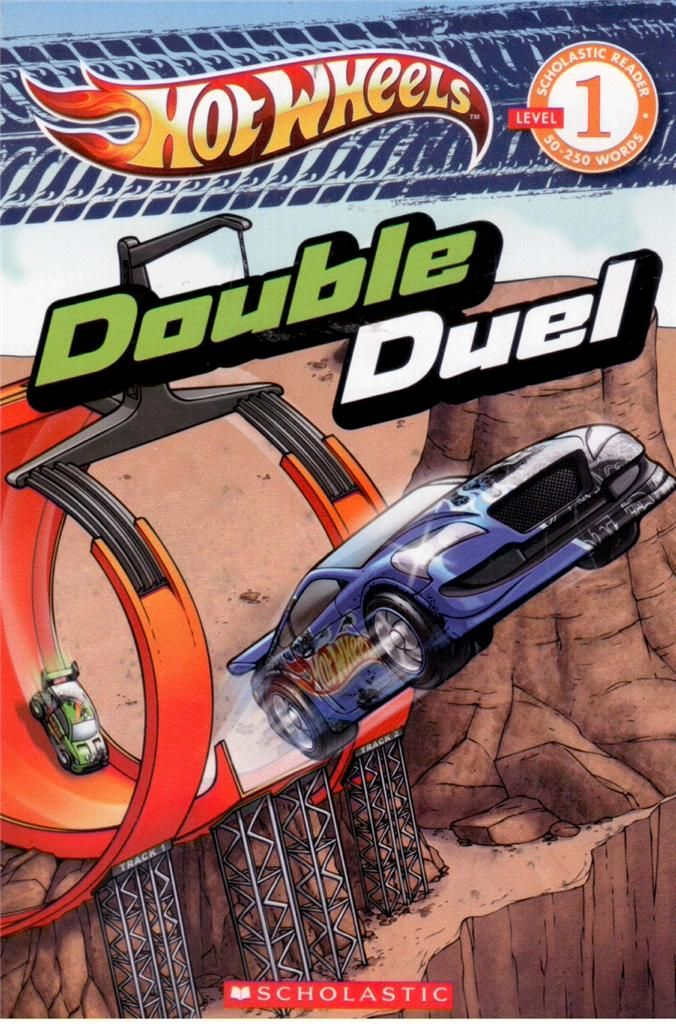 HOT Wheels Double Duel Scholastic Reader Level 1 NEW