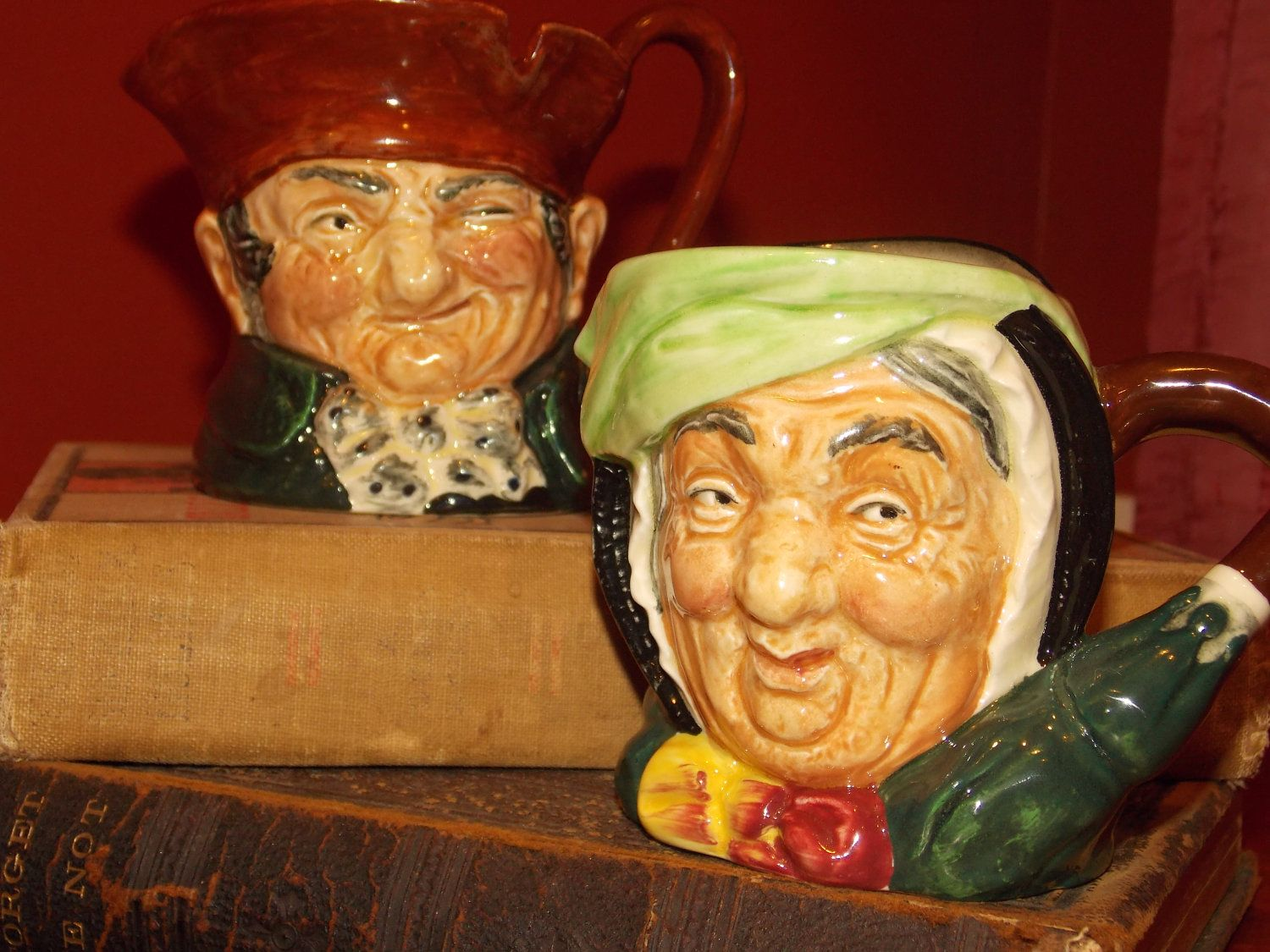 Royal Doulton Toby Mugs by GrandpaCharlies on Etsy, $50.00