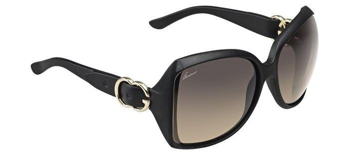Lunettes de soleil - pas cher - Gucci GG-3512-S Noir XZF