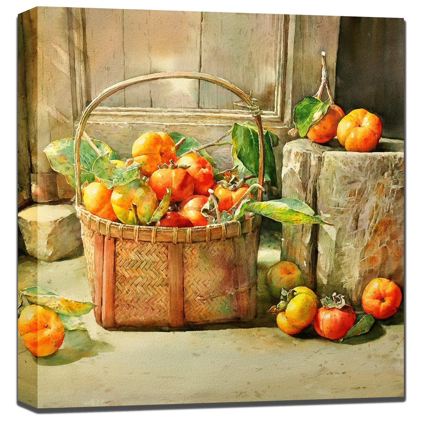 West of the Wind Tomato Basket Outdoor Wall Art - 80807-24 (TOMATO ...