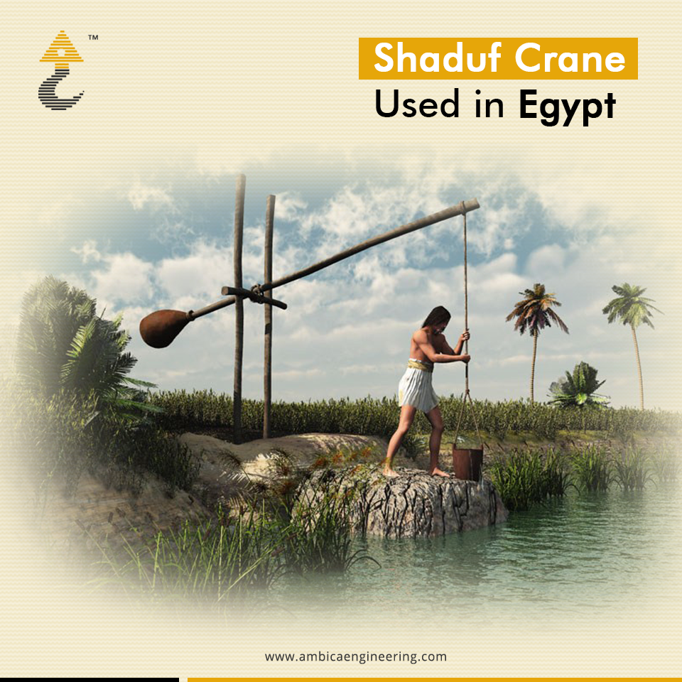 The Oldest Crane Was Used Over 4000 Years Ago In Egypt And Was Called A Shaduf To Lift Wa Ancient Egypt Farming Ancient Egypt Unit Study Ancient Egypt Crafts