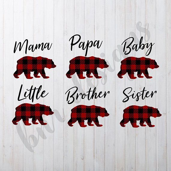 Kids Image By Bnr Designs Mama Bear Cricut Baby Baby Bear