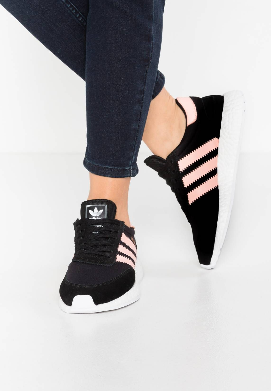 huge selection of d8e2d 61781 adidas Originals. INIKI RUNNER - Trainers - core blackhaze coralwhite.  PatternPrint. Care instructionstreat with a suitable protector before  wear.