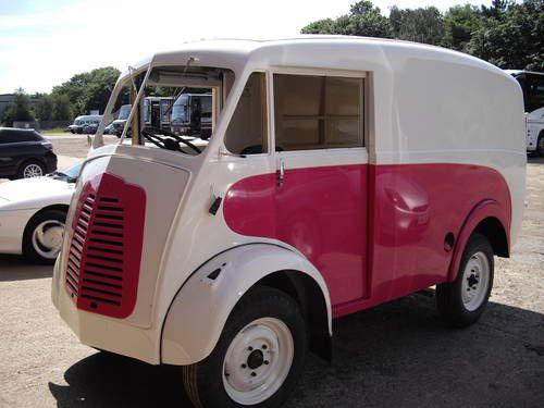 Morris J Type Vans-=-   Stepvan   Vans, Vintage vans