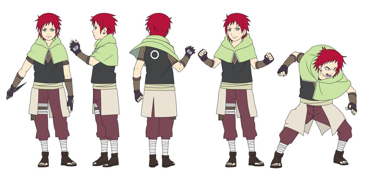 Gaara x Sakura Haruno's son General Info Ninja ... Gaara And Naruto Kids