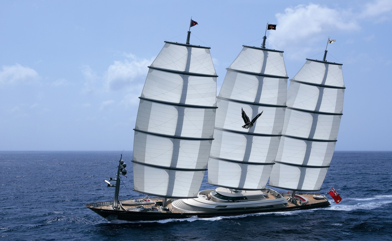 Maltese Falcon Яхта, Парусные суда, Йога