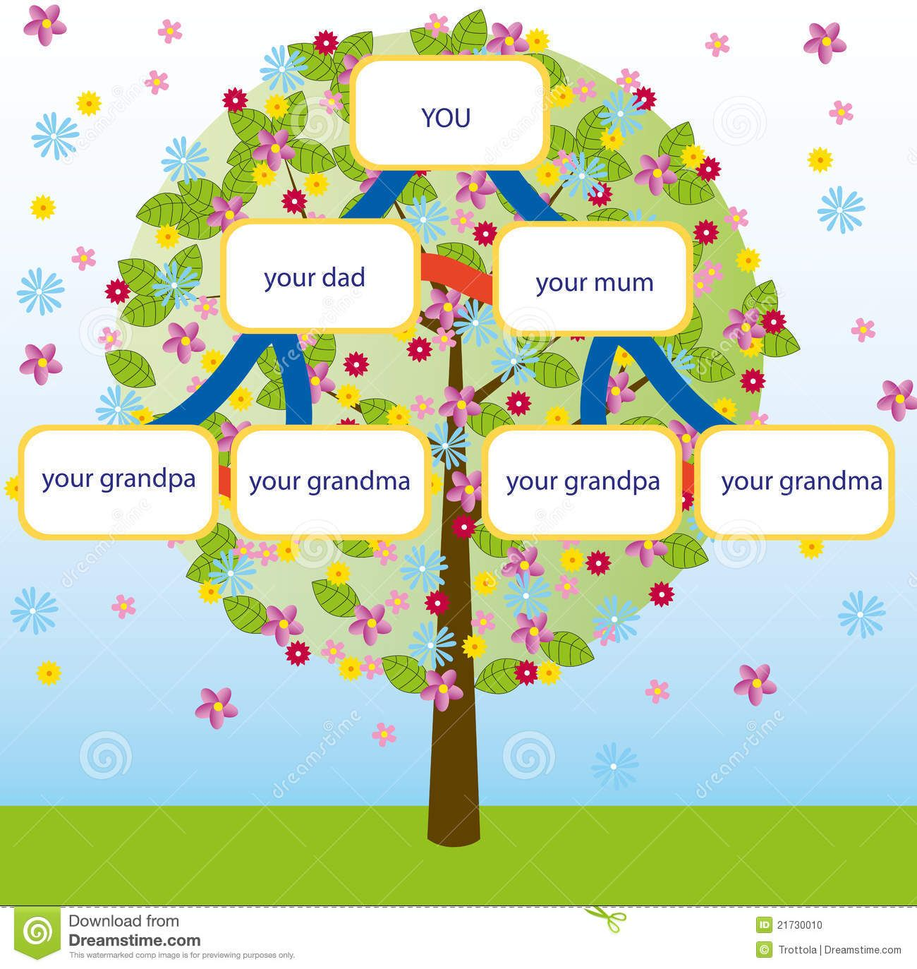 how to draw a family tree - Yahoo! Image Search Results | how to ...