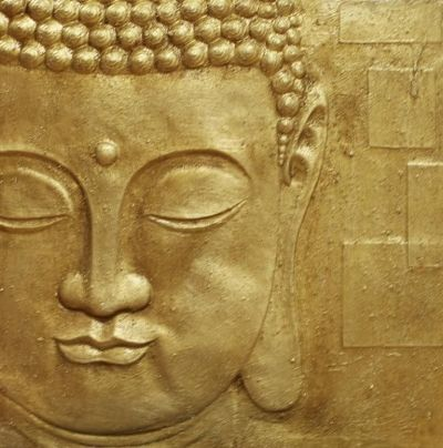 Gold Buddha 3D relief, Art, 002508 | Buddha, 3d and Wallpaper direct