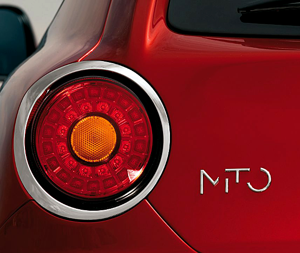 MiTo's rear lights are LED for better safety and even more style! #Alfa #MiTo #italiandesign