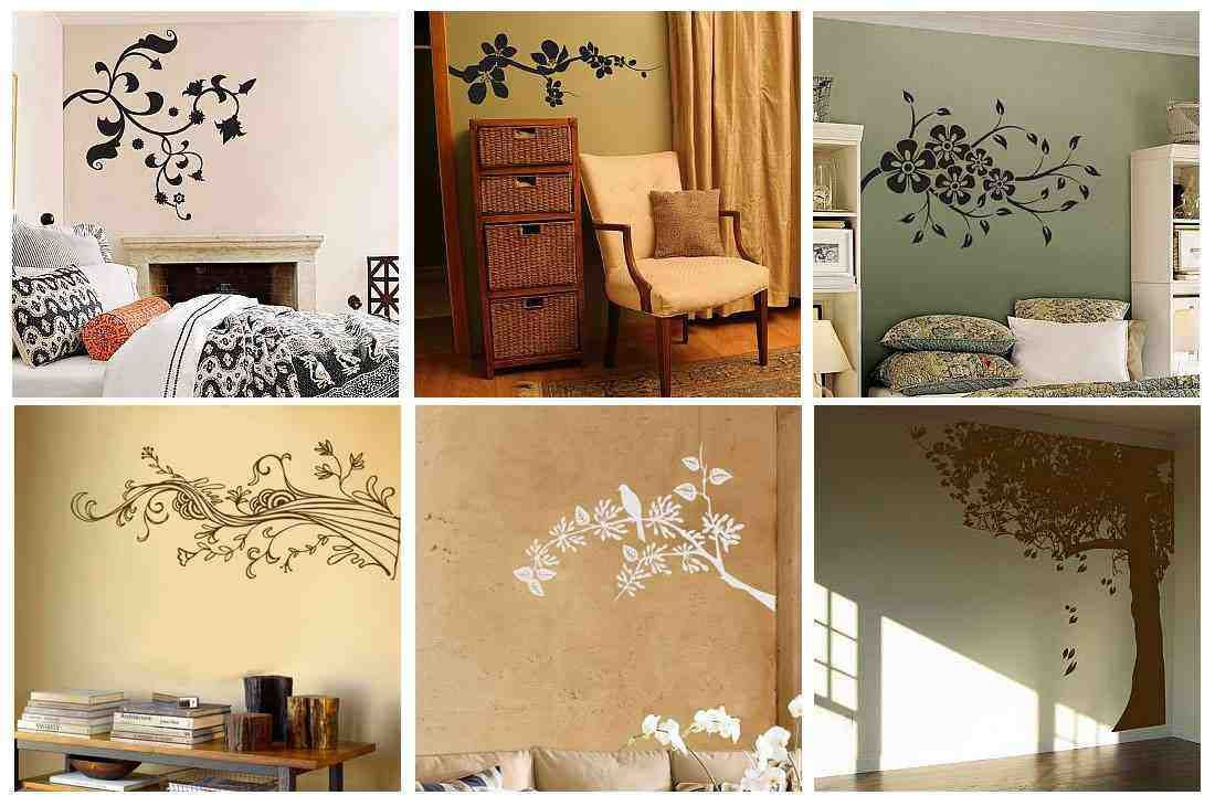 best choice wall decor for bedroom modern designs