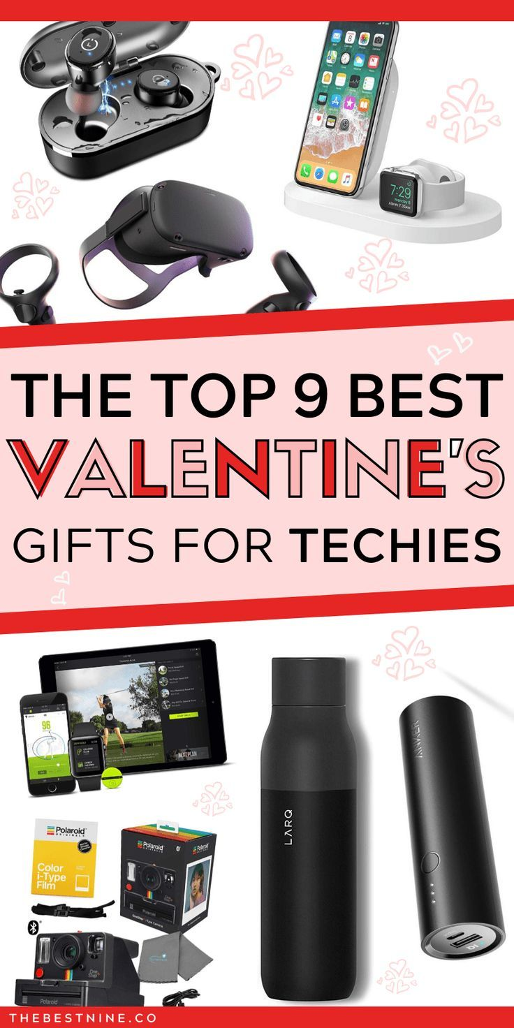 The Best 9 Valentine's Tech Gadget Gifts For The Techie In