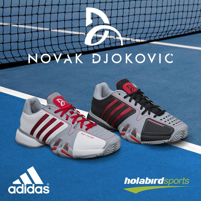Novak Djokovic's adidas Barricade 7 Australian Open 2014 Day and Night Shoes  at holabirdsports.com