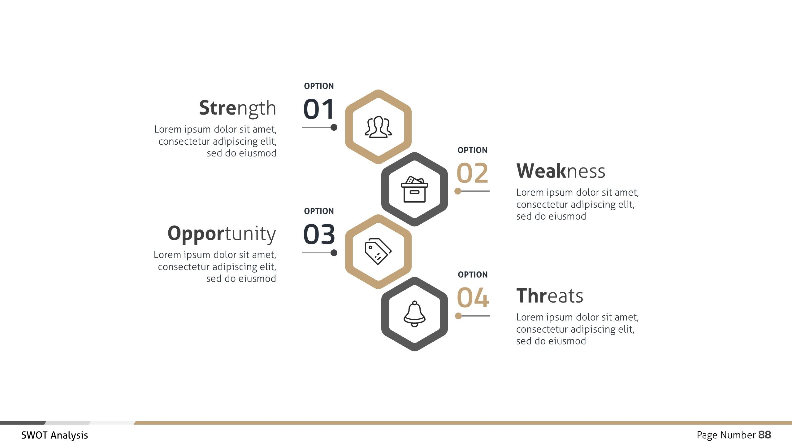 Swot Analysis Business Infographic Google Slides Swot