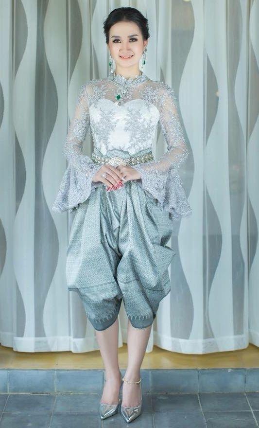 khmer wedding costume | หมั้น | Pinterest