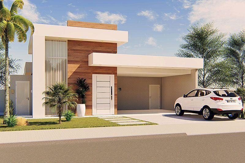 - Source by mcandraandra - en 2020   Façade maison moderne ...