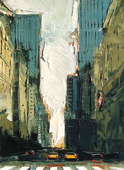 Daniel Castan Urban Painting Cityscape Painting Painting