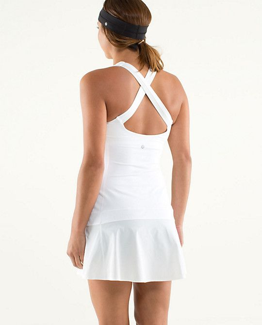 Lululemon Tennis Dress White  98  85425f042