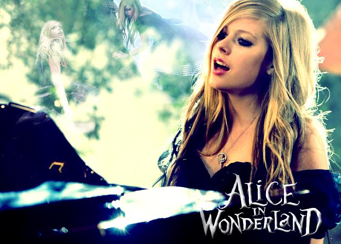 Avril Lavigne - Alice in Wonderland - Alice