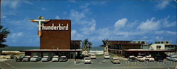 Thunderbird St Petersburg Florida Motel 10700 Gulf Boulevard Fl