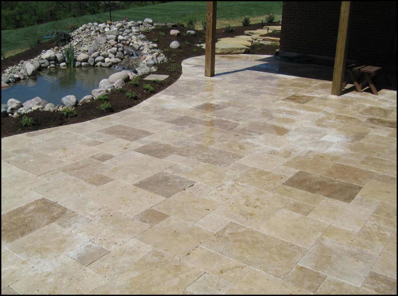 34 Perfect Outdoor Stone Tile Flooring Ideas Patio tiles