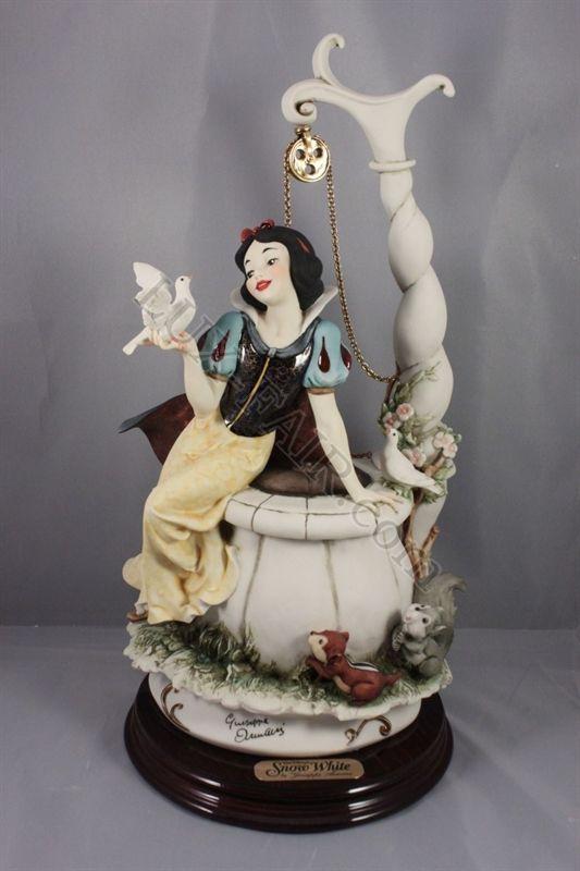*SNOW WHITE ~ Giuseppe Armani Disney figurine 199C Snow ...