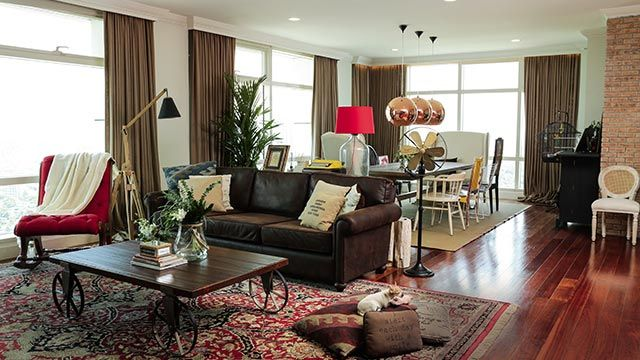 Anne Curtis\u0027s Modern Eclectic Condo Unit Condos, Modern and