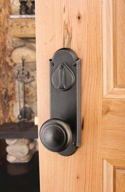 Emtek 7070 Bronze Rustic Design Door Handles